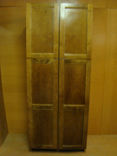 Kraftmaid Maple Kitchen Pantry Cabinet 18 Ebay