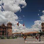 Plaza de Armas on a Sunny Day - Cusco, Peru