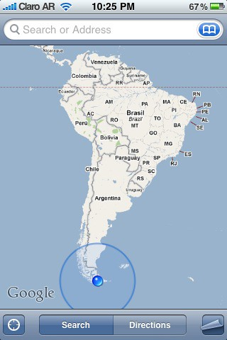 Tip Of South America Map.Southern Tip Of South America Gps This Is Probably About Flickr