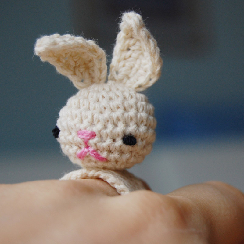 Amigurumi Crochet Bunny Bea Ring Flickr - Photo Sharing!