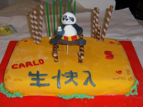 Torta de kung fu panda - Imagui