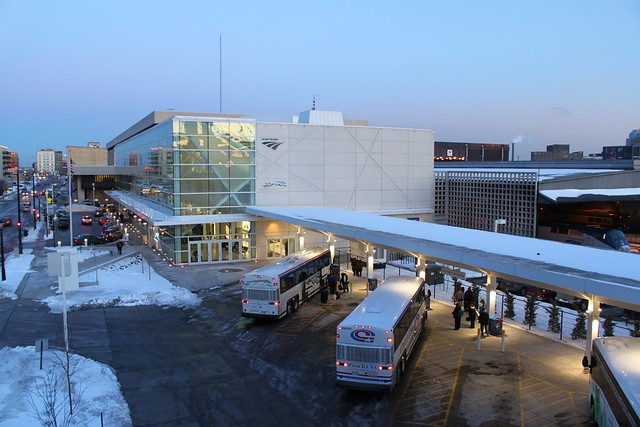 Intermodal Station at Milwaukee, Wisconsin