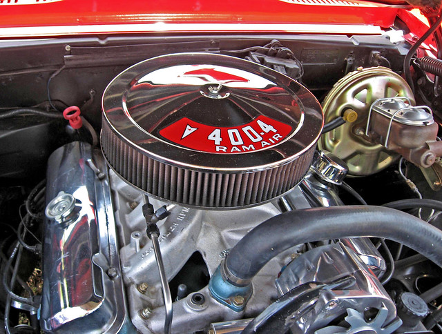 1967 Pontiac Firebird 400 Engine Flickr Photo Sharing