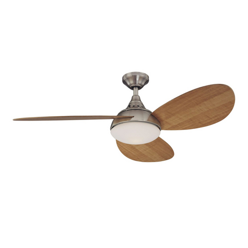 Harbor Breeze 52 Inch Brushed Nickel Avian Ceiling Fan