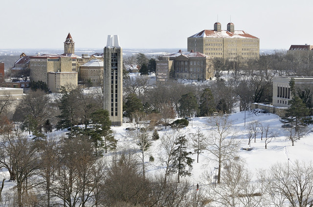 Winter View At Ku Credit David F Mckinney 169 The