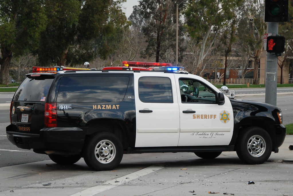 LOS ANGELES COUNTY SHERIFF DEPARTMENT (LASD) HAZMAT - CHEVY SUBURBAN