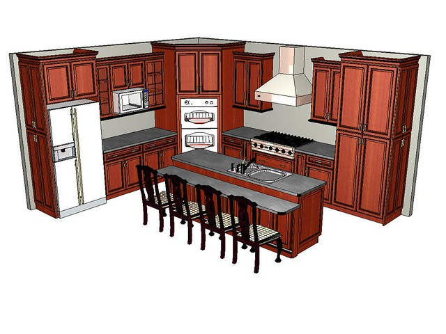 corner double oven kitchen finished finally finished
