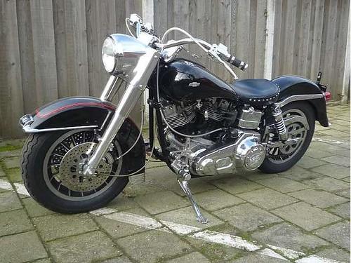Harley-davidson FLH Elec. Glide  1976