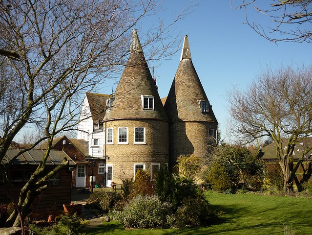 The Oast House in Chestfield, Kent, England