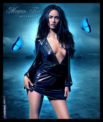 Megan Fox - Butterfly - whendelsouz@