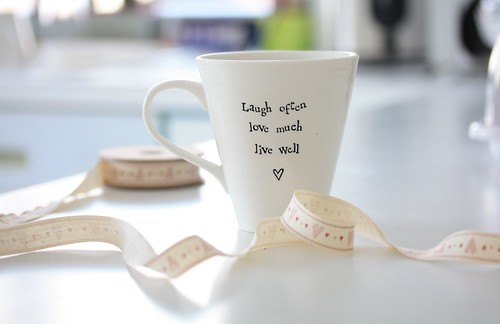 Laugh often, love much, live well!