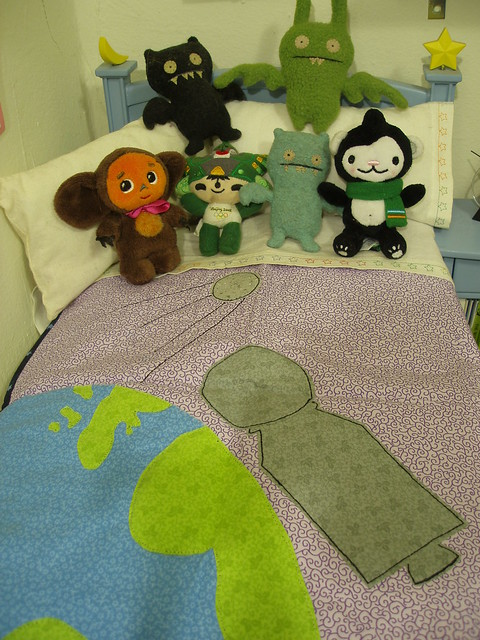 Inky's New Quilt!