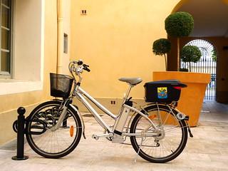 vélo électrique municipal (ORANGE,FR84)