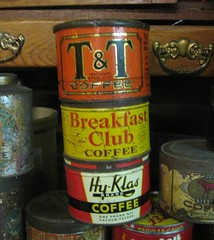 Coffee Tins (T&T - Breakfast Club - Hy-Klas Brands)