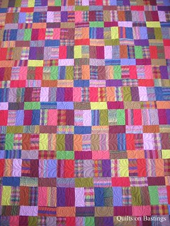 Co-ordinated Chaos Quilt