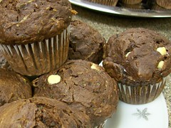 Dark Chocolate Muffins...