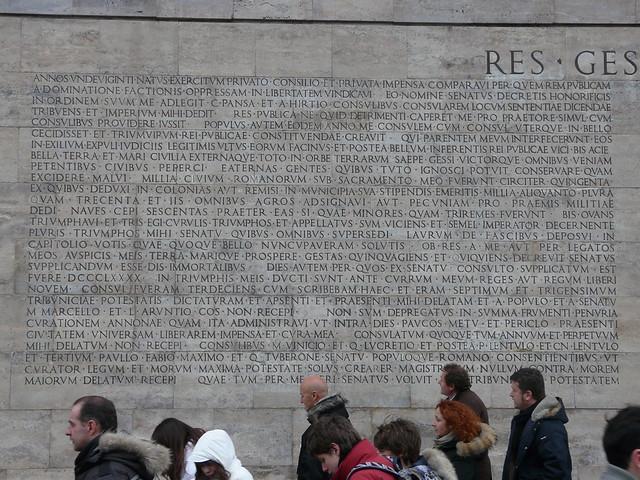 Roman epigraphy an introduction by john bodel brown res gestae divi augusti - Res gestae divi augusti pdf ...