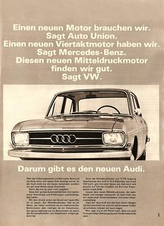 Audi F103 1965