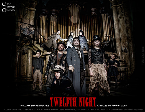 Curio Theatre Company presents TWELFTH NIGHT