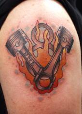V8 Piston Tattoo V8 Piston Tattoo | Car...