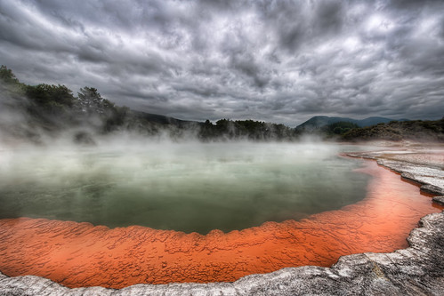 The Artist's Palette in Rotorua