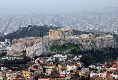 The Acropolis as seen from Mount Lycabettus