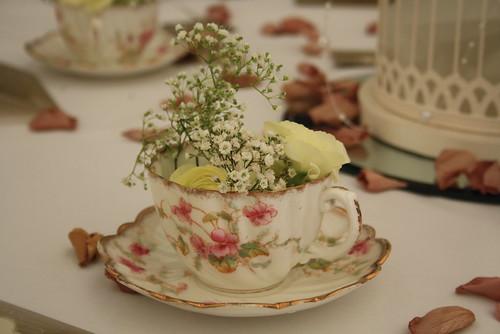 Vintage Teacup Decor by Gemma Morgan
