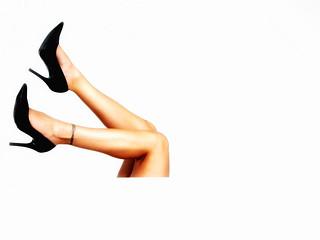 Legs on White