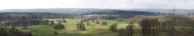 Longleat House Panorama