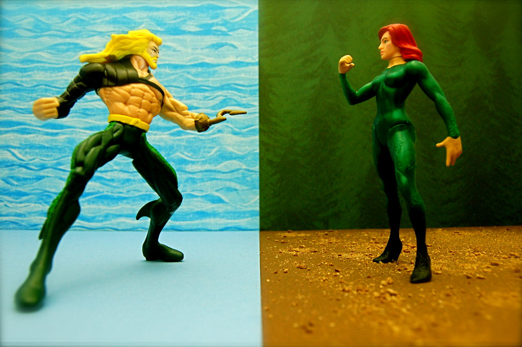 Aquaman vs. Poison Ivy (112/365)