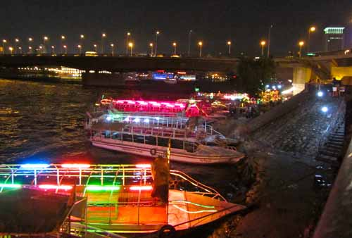 Party Boats at Night on Nile River - Cairo, Egypt | Flickr ...
