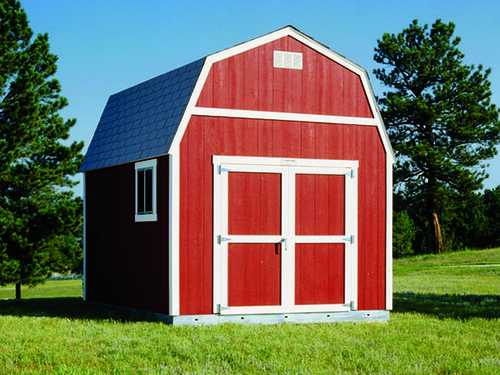 Premier Tall Barn 10x10 Options Shown Paint Double
