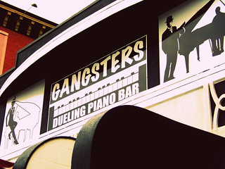 gangsters with pianos