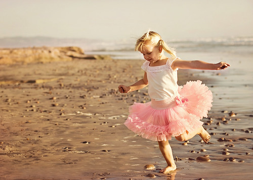 Beach ballerina by ImagesByClaire