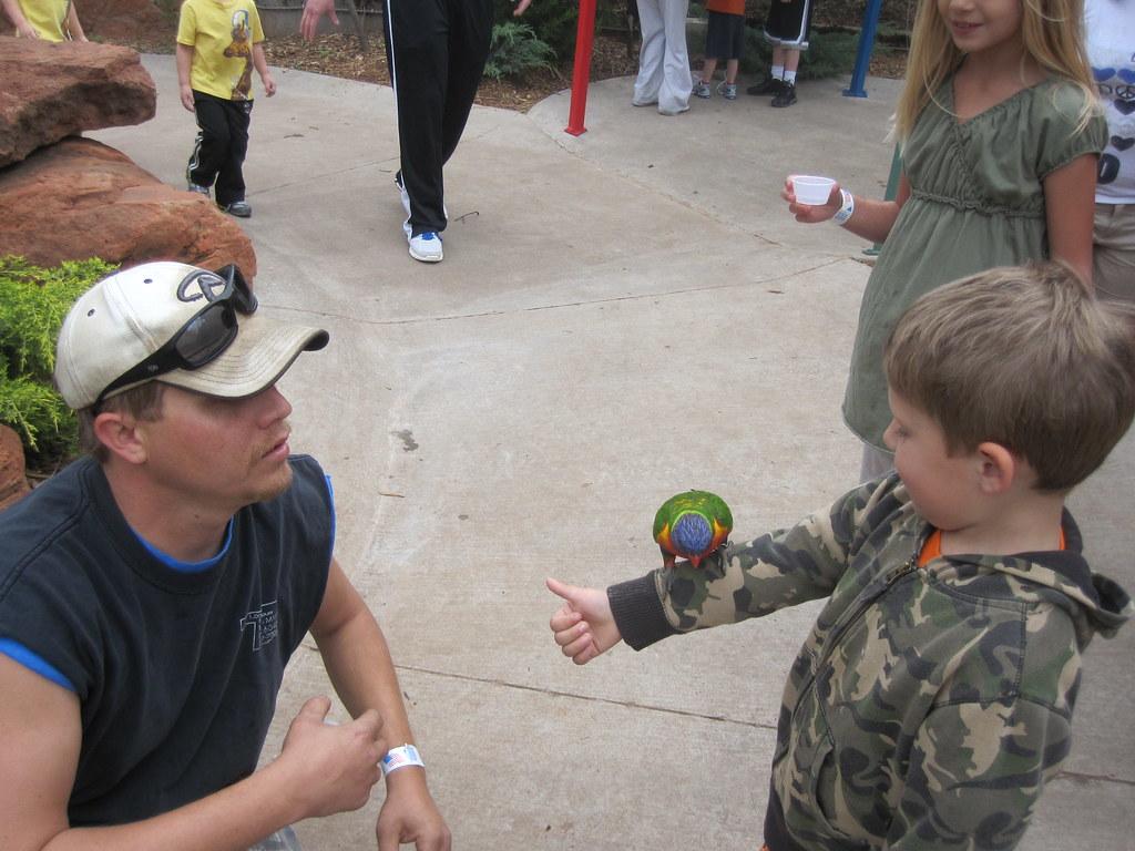 Ashton With Bird