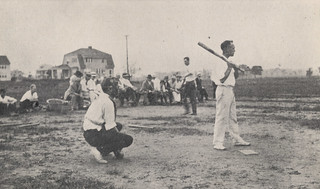 O. C. Ingalls of Grandview at Bat, 1918