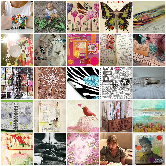 Inspiration Mosaic - May 2010 (Mosaic by iHanna)