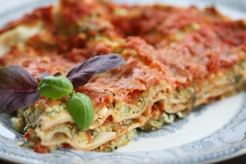 Courgette lasagne / Suvikõrvitsalasanje