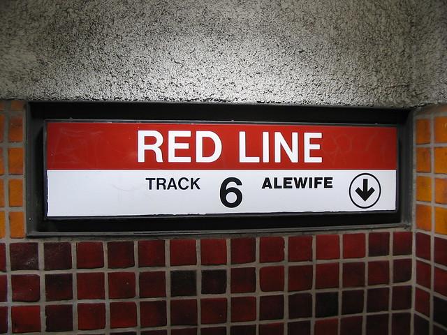 mbta red line boston flickr photo sharing