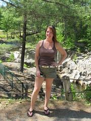 Jo at Coos Canyon, Byron, Maine