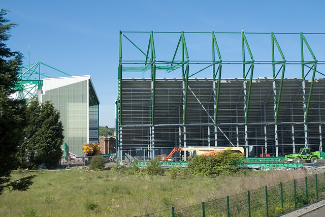 East Stand Construction 060