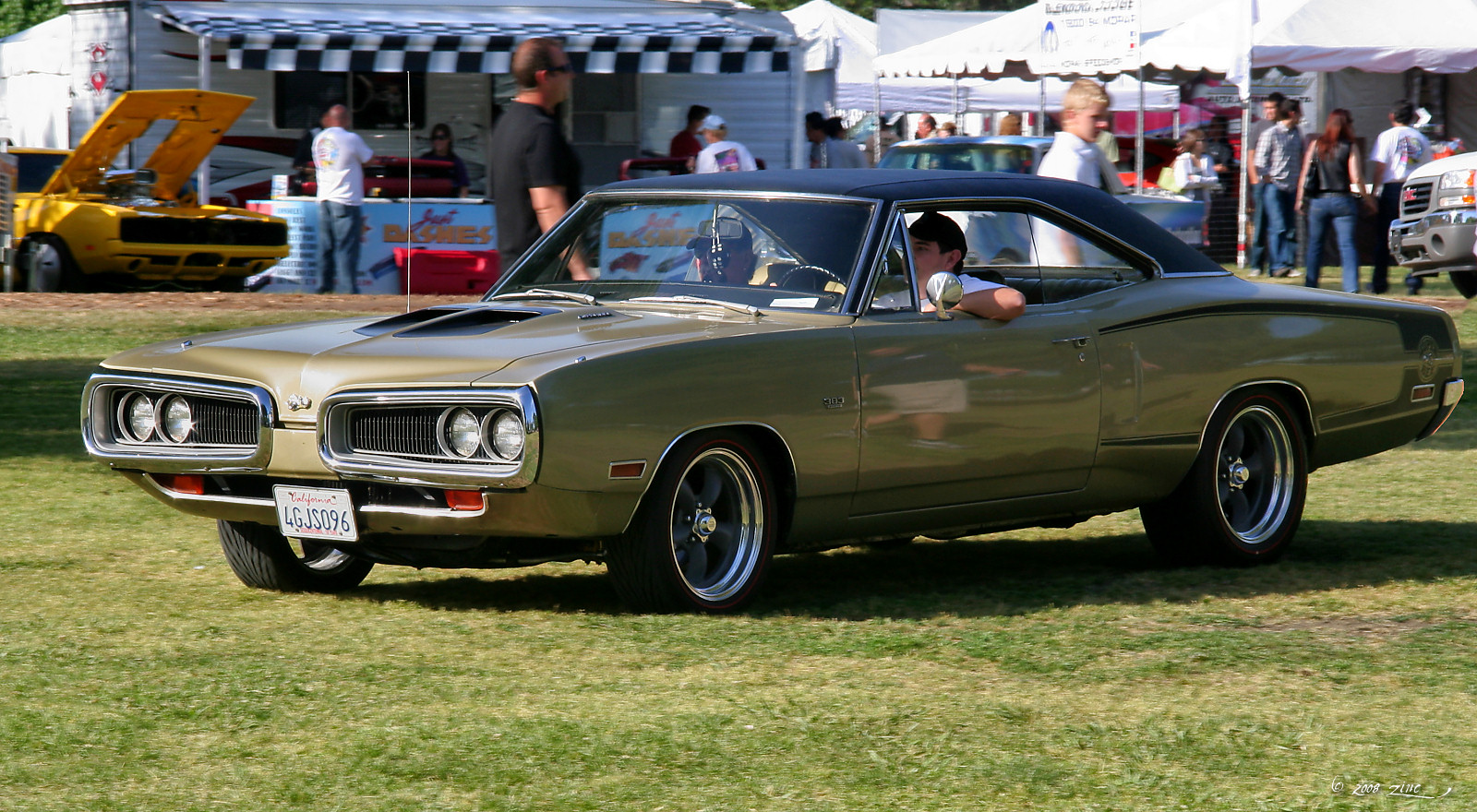 1970 Dodge Super Bee  green  fvl by Rex Gray via Flickr  The