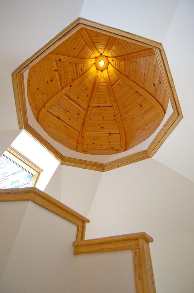 stairway ceiling details dacha