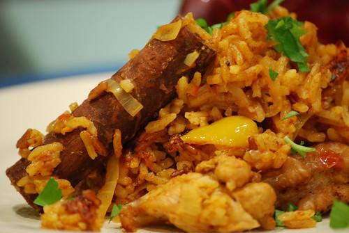 Cinnamon - Spicy Chicken Pilau - photo by Julia