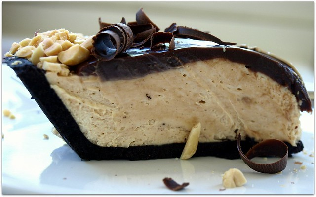 no bake chocolate peanut butter pie | Flickr - Photo Sharing!