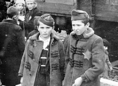 Arriving at Auschwitz, May 1944