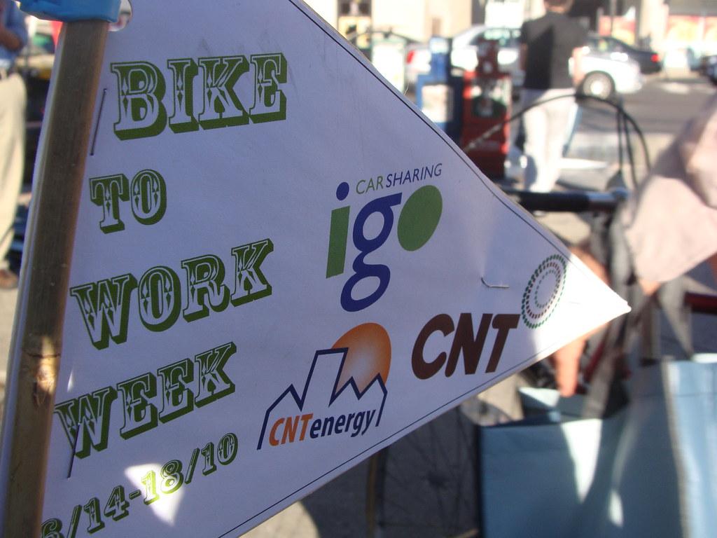 Bike to Work Week 2010