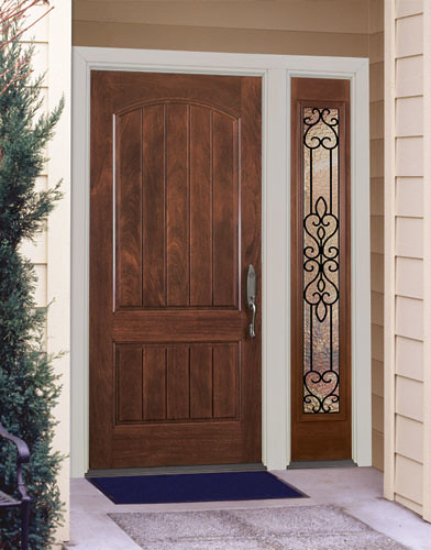 River Doors Feather River Door Bellante Wrought Iron: Feather River Door Fiberglass Entry Doors