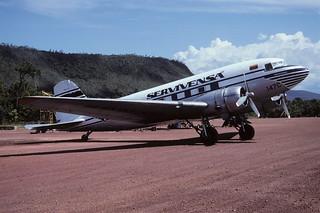 149bh - SERVIVENSA DC-3; YV-147C@CAJ;03.10.2001