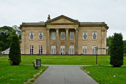 The Mansion, Roundhay Park: South Front